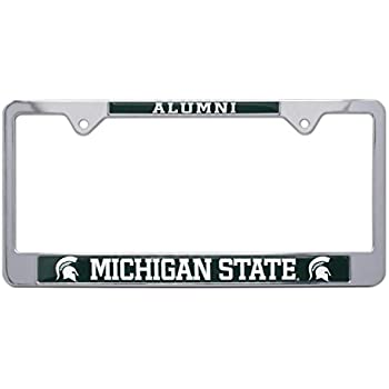 Amazon Com Michigan State University Alumni License Plate