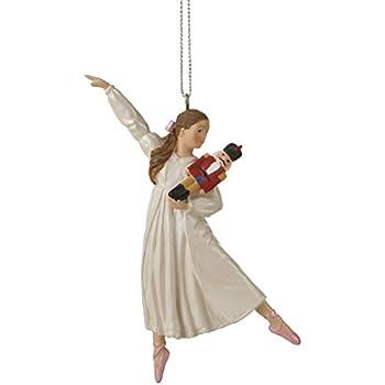 Amazon.com: Kurt Adler Clara Holding Nutcracker Christmas Ornament ...