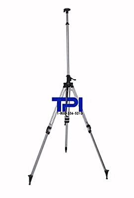 Tpi 12' Elevator Aluminum Tripod For Laser Level
