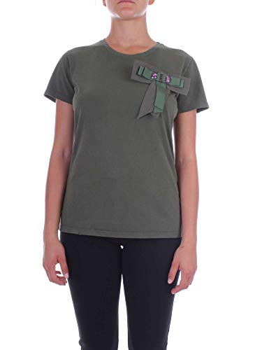 T Verde Pinko 1g12pwy3n9x22 Donna Cotone shirt 1wwd8RxqX