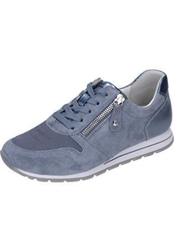 Azul Mujer mare Shoes Gabor Comfort Zapatillas Basic nautic 24 Para qnaRqTYX