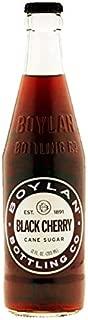 product image for Boylan Bottling Pure Cane Sugar Soda Pop, Black Cherry, 12 oz Glass Bottles (Pack of 12)