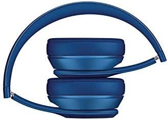 Beats Solo 2 WIRED On-Ear Headphone NOT WIRELESS - Blue (Renewed)