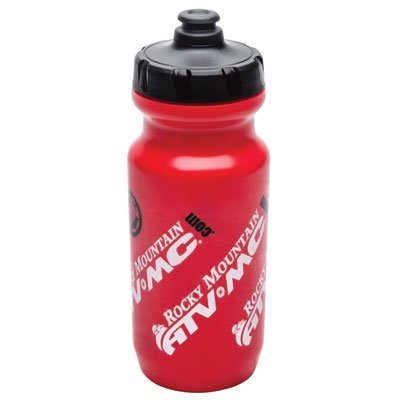 Rocky Mountain Premium Water Bottle Red/Black 21 oz.