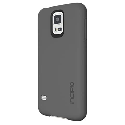 Incipio Feather Case for Samsung Galaxy S5 - Retail Packaging - Gray (Incipio Phone Case For Galaxy S5)