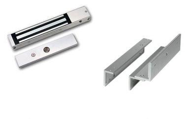 Securefast - Cerradura magnética diseño Slimline con herrajes Z y L
