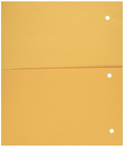 Mead Pocket Dividers Yellow 33508