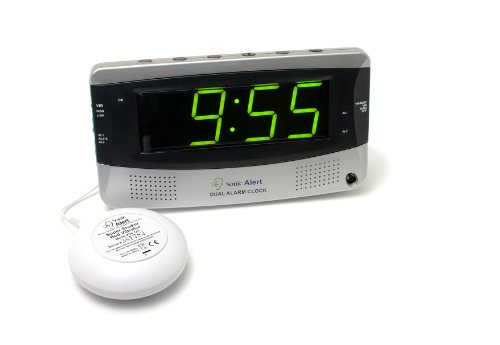 Sonic Bomb Extra-Large Dual Alarm Clock with Large Display - - Clock Sonic Alert