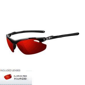 1 - Tifosi Tyrant 2.0 Polarized Single Lens Sunglasses - Clarion Mirror Collection - Gloss Black