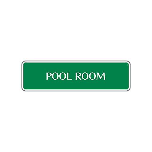 Pool Room Street Sign Billiard Cue Table Ball Garage Man Cave Décor Gift 4