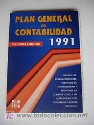 Descargar Libro Plan General Contabilidad 1991 Desconocido
