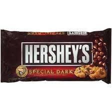 Hershey's Special Dark Mildly Sweet Dark Chocolate Baking Chips, 12-Ounce Bag (Pack of 8)