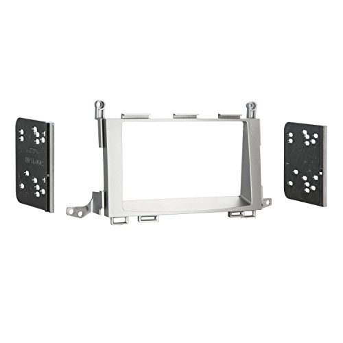 Metra 95-8225G Double DIN Installation Dash Kit for 2009 Toyota Venza (Gray)