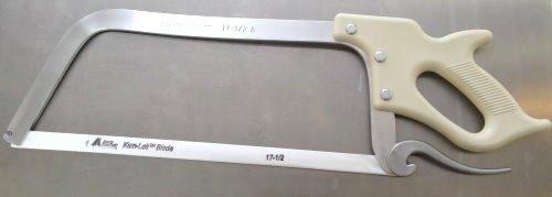 Handsäge Alusäge Bogensäge Säge 45/50/60cm Spannbogensäge Knochensäge, Wunsch:25Inch