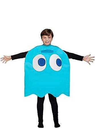 Funidelia Disfraz de Fantasma Pac-Man Inky Infantil: Amazon ...