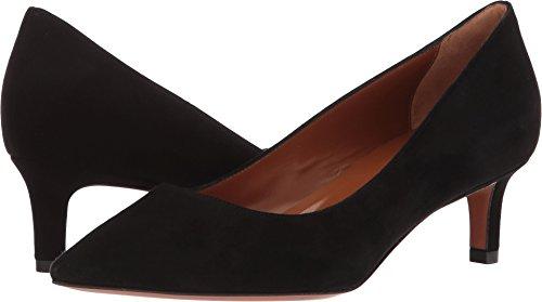Aquatalia Women's Marion Black Dress Suede 8.5 B US