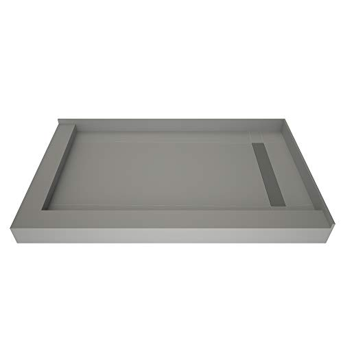 Tile Redi USA RT3660RDL-PVC-TBN Trench Shower Pan, 36