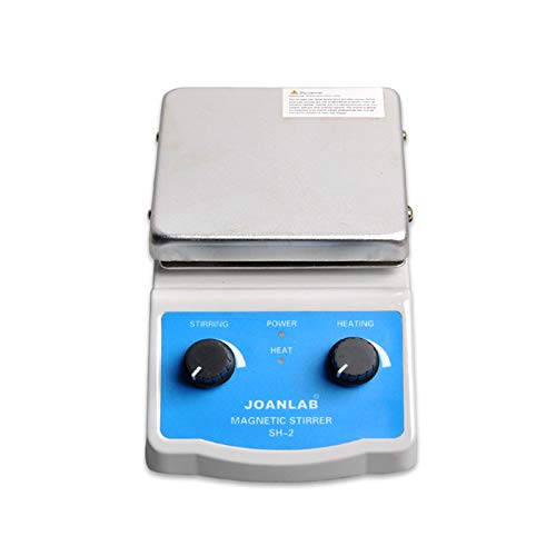JoanLab SH-2 Integrated Magnetic Stirrer with Analog Hot Plate, 2,000mL, 100-1400rpm, 350°C Max. Temp, 30mm Stir Bar and Thermometer Support Stand Included by JoanLab (Image #3)