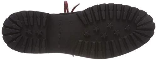 Noir Suede 990 Hilfiger Modern Bottes Boot Tommy Hiking Black Femme Rangers qI8xwvBU
