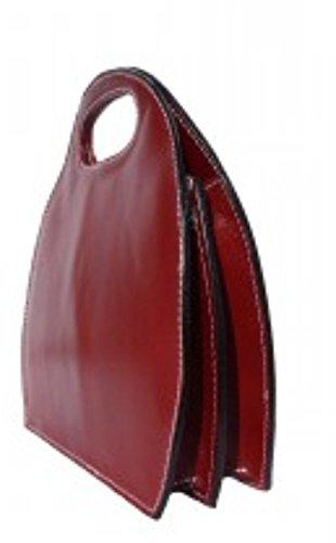Superflybags - Bolso de asas para mujer L rojo