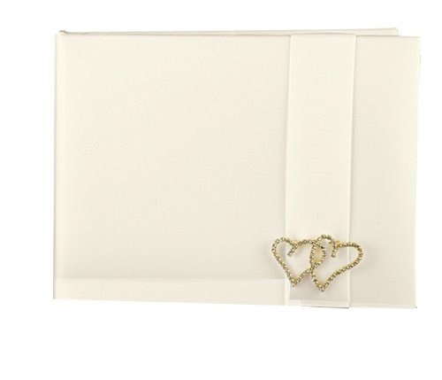 Sourced Hortense B. Hewitt Wedding Accessories, Guest Book, with All of My Heart, Ivory, 7.5-Inches x 5.75-Inches