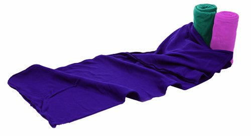 Texsport In Style Fleece Sleeping Bag and Liner (Assorted, 75-Inch X 32-Inch), Outdoor Stuffs