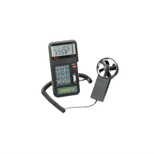 Dwyer Model VT-200 Digital Vane Thermo-Anemometer, 0.3-45 m/s - Serial Port Data Logger