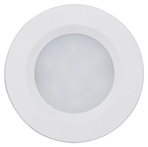 MÜLLER-LICHT 400079 LED Aufbauleuchte Cabinet Spots Flat 4er Set, Plastik, 7.5 W, weiß, 5.5 x 5.5 x 1 cm