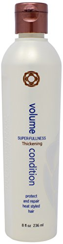Thermafuse Volume Condition (8 oz) Body Building, Volumizing, Repairing, Weightless, Nourishing Conditioner That Seals & Increases Shine For Thin, Thinning, Fine & Normal Hair Types