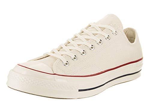 Converse Unisex Chuck Taylor All Star 70 Ox Parchment/Garnet/Egret Basketball Shoe 7 Men US / 9 Women US ()