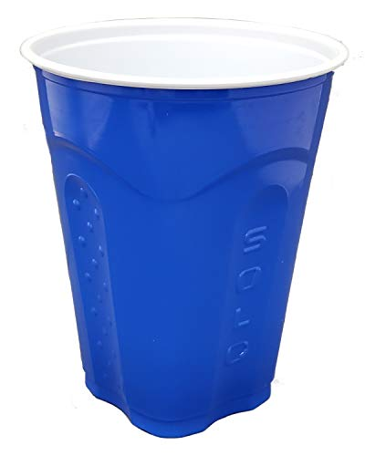Solo Squared Cups, 18 Oz, Blue, 60 Count -