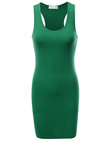 - Fifth Parallel Threads FPT Women's Racerback Tank Dress Green M