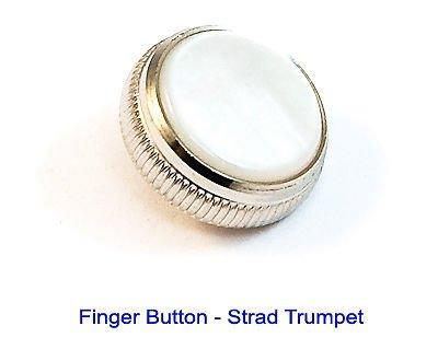 Bach Vincent Bach Stradivarius botón de dedo para trompeta, níquel + perla: Amazon.es: Instrumentos musicales