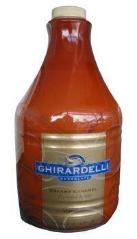 Ghirardelli Caramel Sauce Case, Six 64-Ounce Bottles by Ghirardelli (64 Six Oz Bottles)