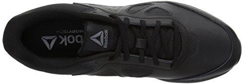 Reebok Mens Walk Ultra 6 Dmx Max Sneaker Black / Alloy_bla