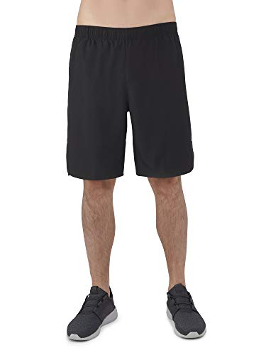 - Russell Men's Performance 9 in 2-in-1 Stretch Woven Shorts Compression Boxer Liner Black