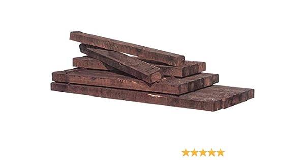 Intermas M234587 - Traviesa tratada autoclave madera de pino 180 x 20 x 10: Amazon.es: Bricolaje y herramientas