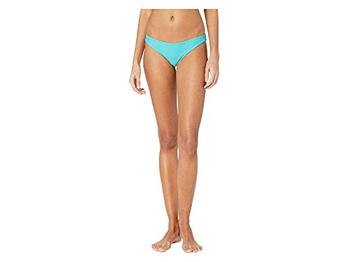 Hurley Women's Apparel Women's Quick Dry Compression Solid Bikini Bottom, Cabana, XS -