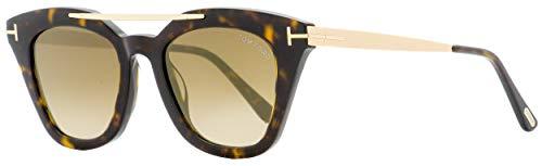 Sunglasses Tom Ford FT 0575 Anna- 02 52G dark havana / brown mirror