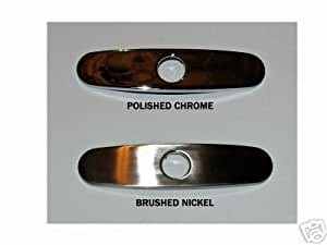 Kitchen Faucet Coverplate Cover Plate Brushed Nickel Touch On Kitchen Sink Faucets
