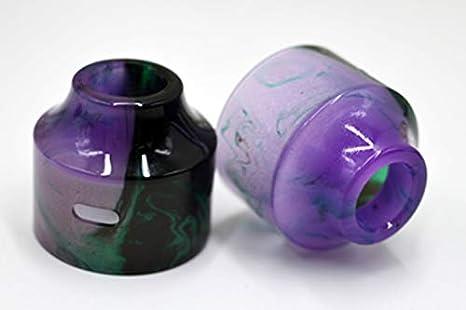 RUIYITECH Pom PC Pei Negro Tapa Superior de Repuesto para Wasp Nano RDTA 22 mm