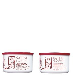 Satin Smooth Wild Cherry Wax 2 Pack by Satin Smooth by Satin Smooth