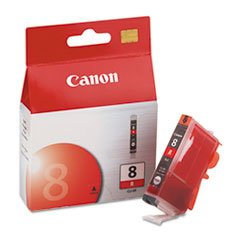 Canon Cli 8 Red Ink (CNMCLI8R - Canon CLI-8 Red Ink Tank For PIXMA Pro9000 Printer)