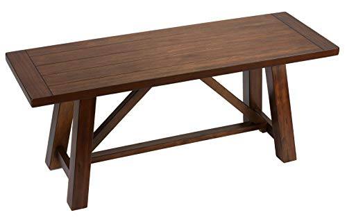 Cortesi Home Birmingham Dining Bench, 44 Wide