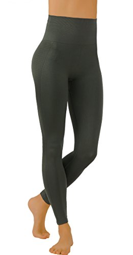 - Pro Fit Yoga Pants Dry-Fit Compression Workout Leggings (S/M USA 2-6, PF607-Army.Gr)