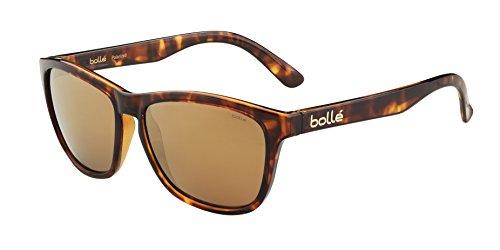 Bolle 473 Sunglasses, Shiny Tortoise/Polarized A-14 Oleo ()