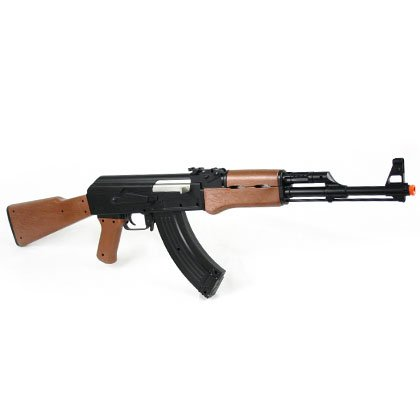 Amazon Com Jg Ak 47 Rifle Ak74 Airsoft Electric Gun Aeg Metal Gear