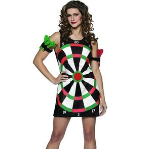 Dartboard Costume Dress - Womens 4-10