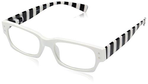 Peepers Women's Hey Sailor Rectangular - White Glasses Prescription