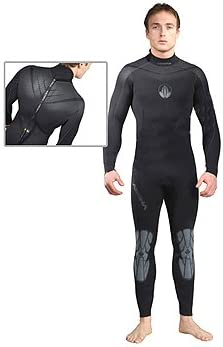 7mm AkonaメンズSuperstretch Full Wetsuit for Scuba Diving andシュノーケリングDiveダイバーダイビングシュノーケルWet Suitフル正規販売店保証